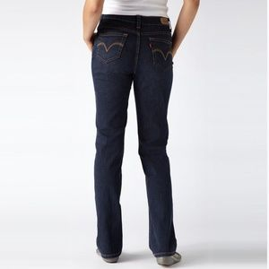 LEVI'S Perfectly Slimming 512 Straight Leg Jean 10